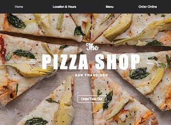 Pizza Factory Free Website Template | Free CSS Templates | Free CSS