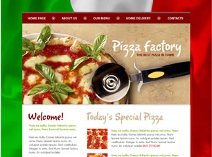 Pizza Website Templates Pizza Shop Website Template | Top Soft Links