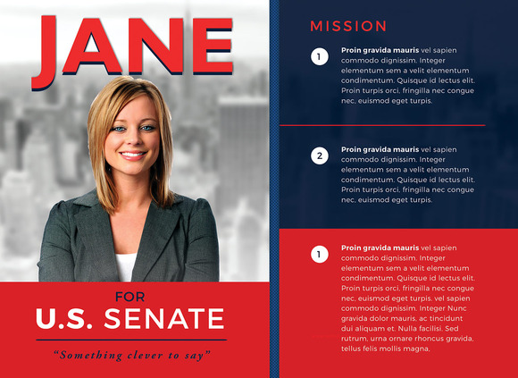 Political Mailer Template Preview eventticketsprinting.co