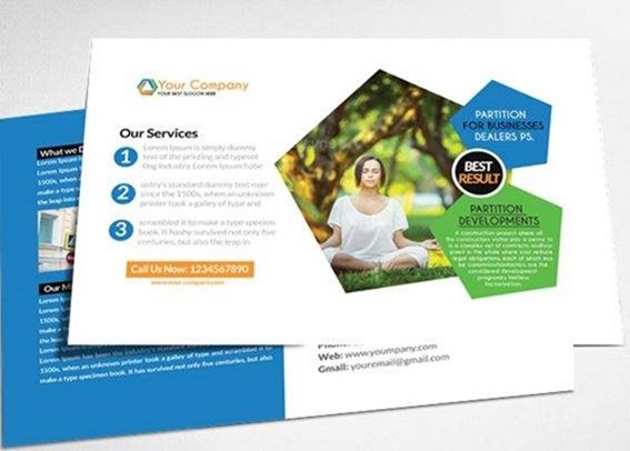 postcard template psd Melo.in tandem.co