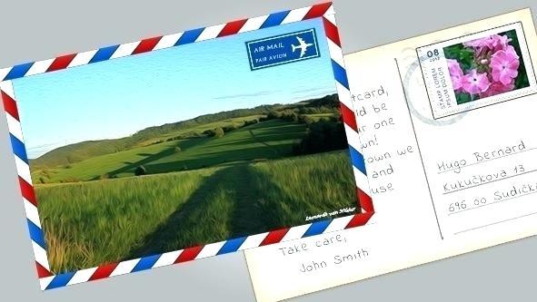 Postcard Template Psd | melanoma2010.com