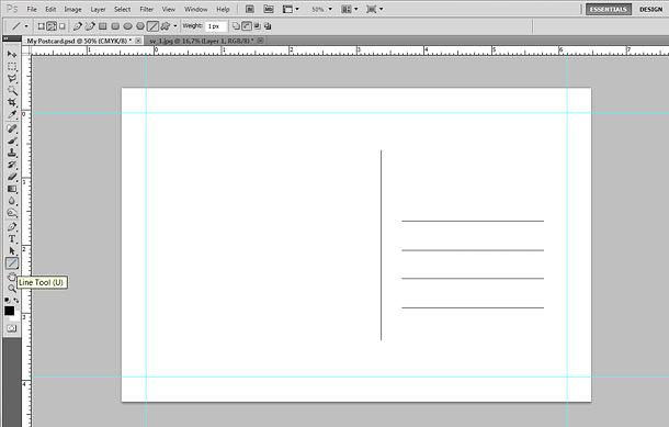 How To: Make a Postcard in Photoshop Printaholic.com