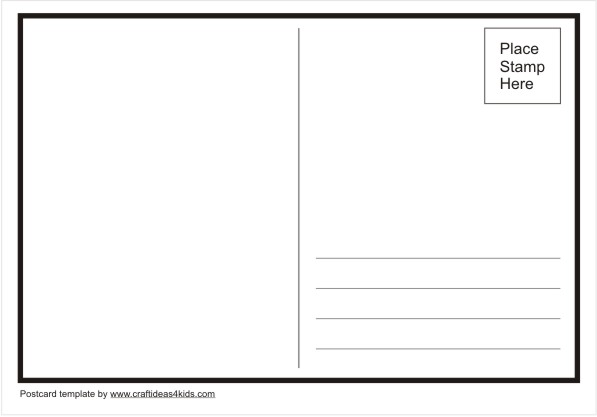 postcard template in word Melo.in tandem.co
