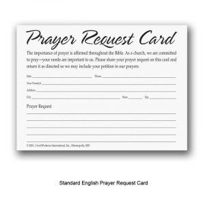 missionary prayer card template Melo.in tandem.co