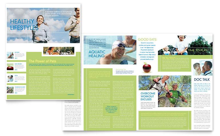 Free Printable Newsletter Templates Template Design Ideas Print