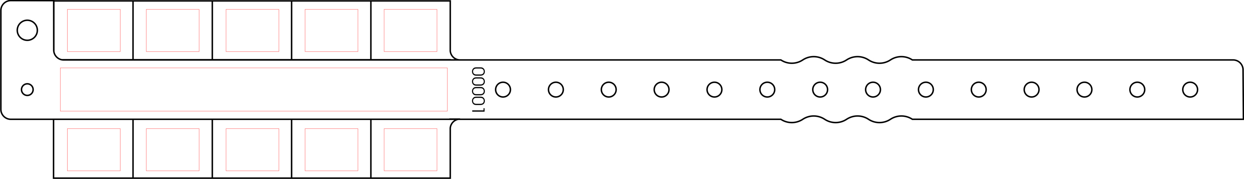 image regarding Tyvek Wristbands Printable referred to as Printable Wristband Template