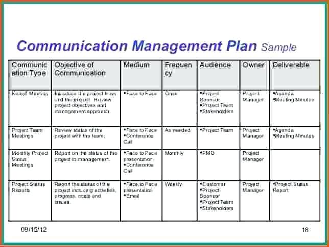project communication plan example Melo.in tandem.co