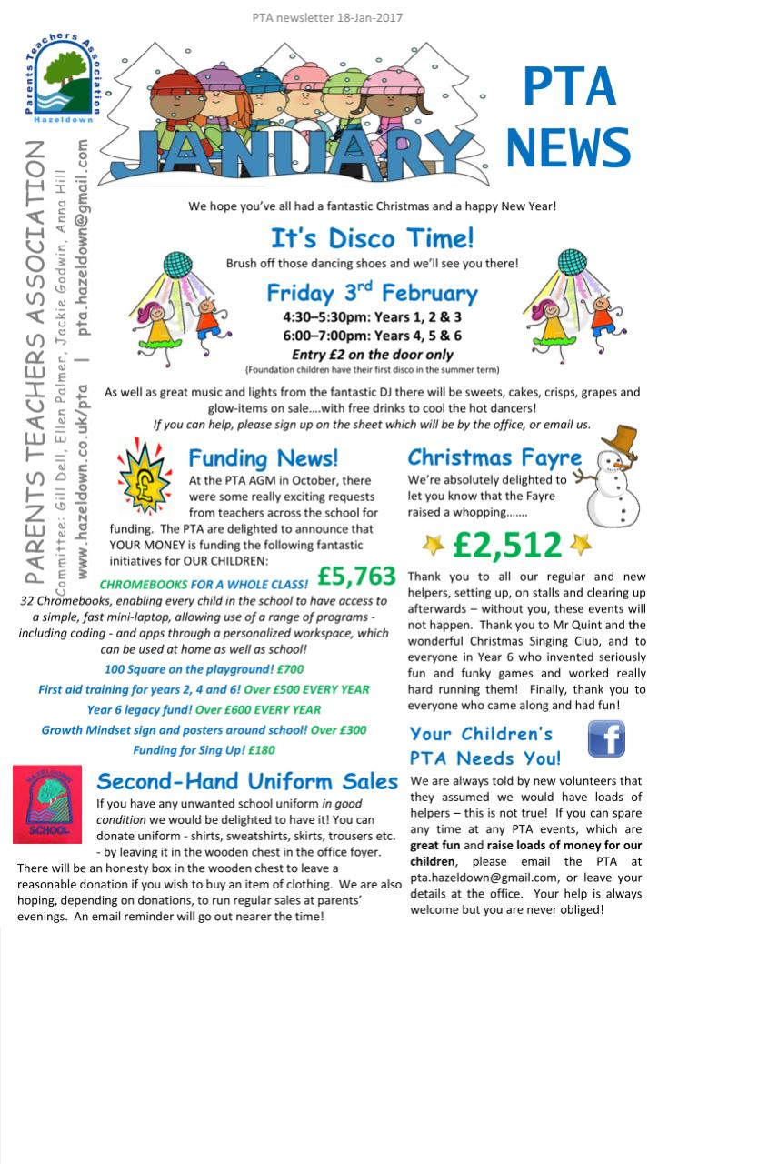 pta-newsletter-template-pta-newsletters-hazeldown-primary--xVKour Pto Newsletter Templates Free on preschool classroom, microsoft word, christmas family,