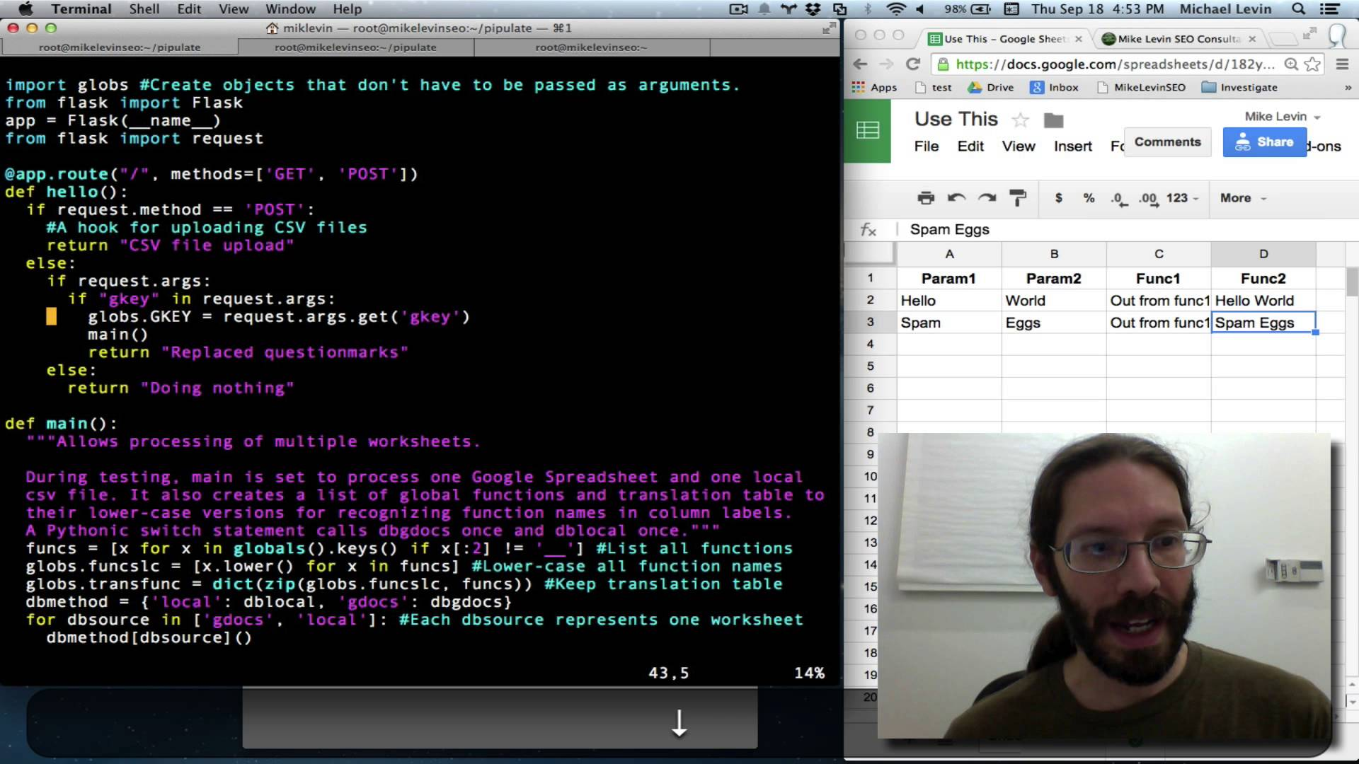 Jinja2 Templates Hello World in Python Flask Web Framework YouTube