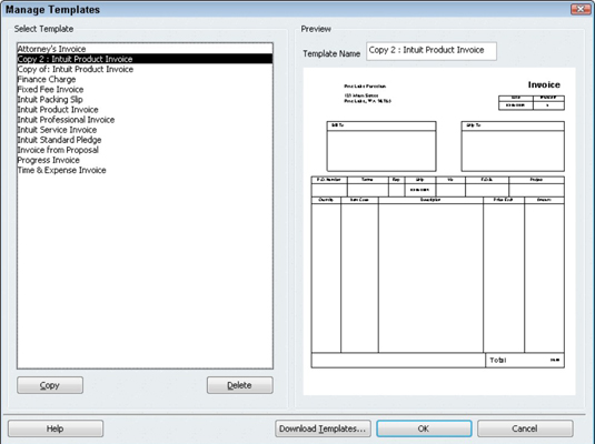 quickbooks invoice template excel Melo.in tandem.co