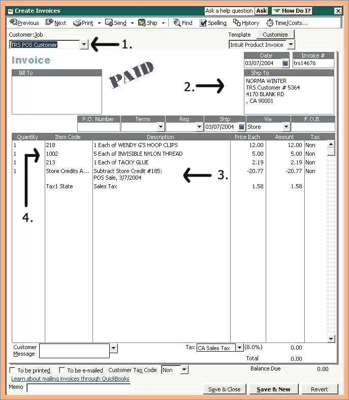 How to Create a Customized Invoice Form in QuickBooks 2010 dummies