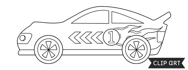 photo regarding Race Car Template Printable identified as Race Vehicle Template