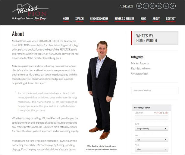 sample resume real estate bio examples Melo.in tandem.co