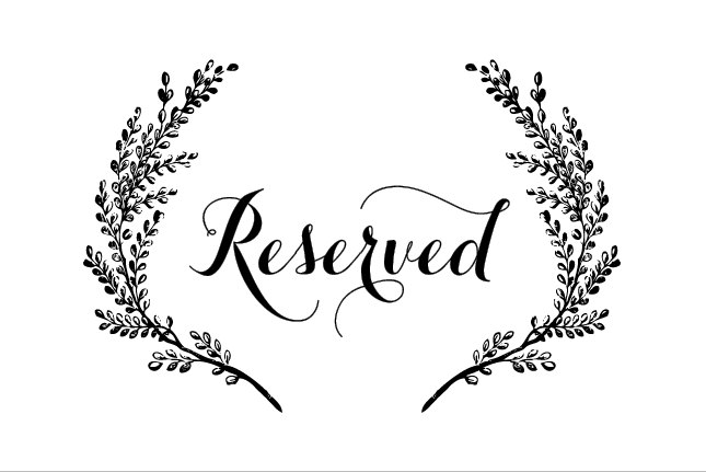 27 Images of Wedding Reserved Seating Signs Template | leseriail.com