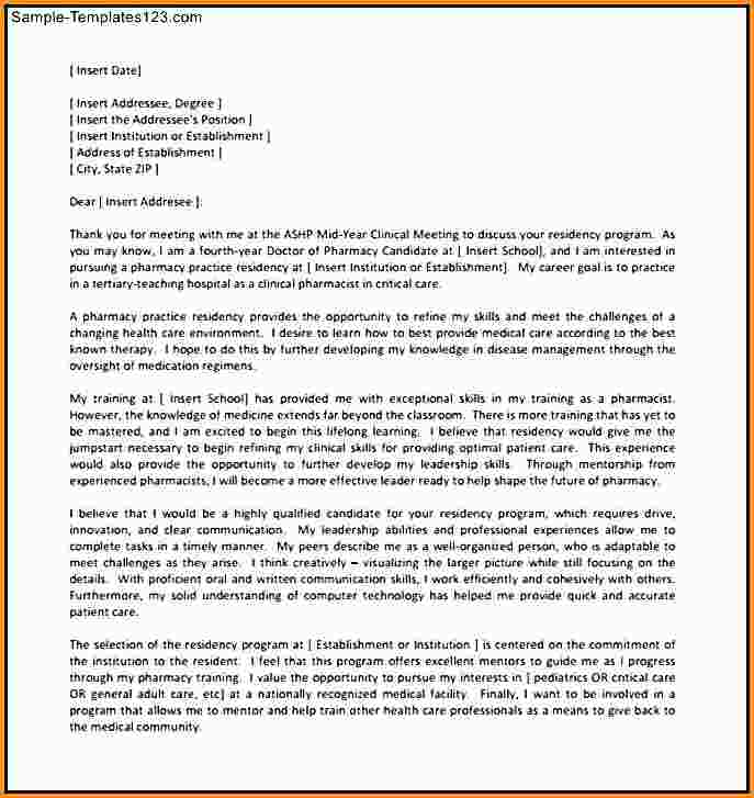 pharmacy residency letter of recommendation Melo.in tandem.co