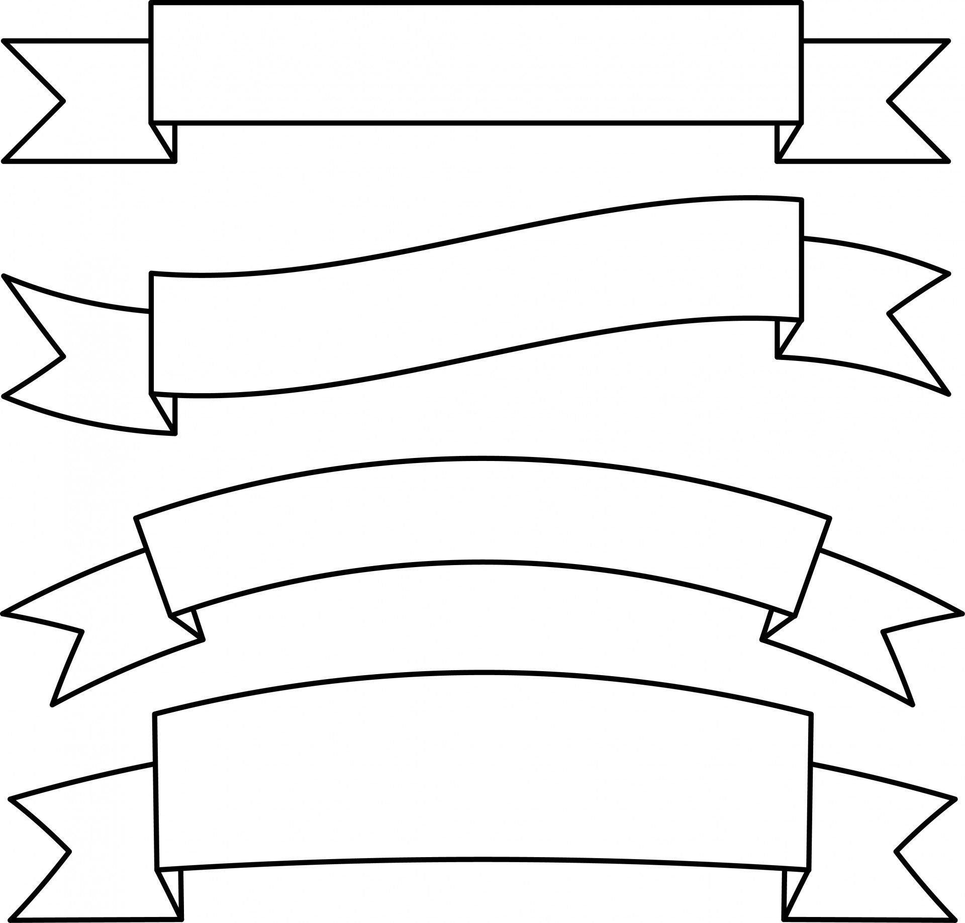 ribbon banner templates Toma.daretodonate.co