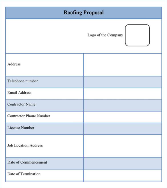 11+ Roofing Estimate Templates PDF, DOC | Free & Premium Templates