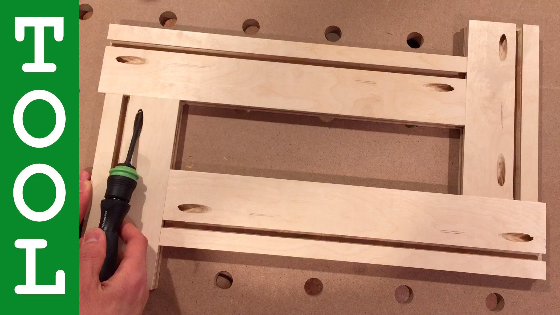 How to Make an Adjustable Routing Template YouTube