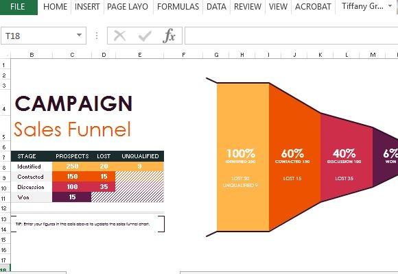 Sales Pipeline Excel Template