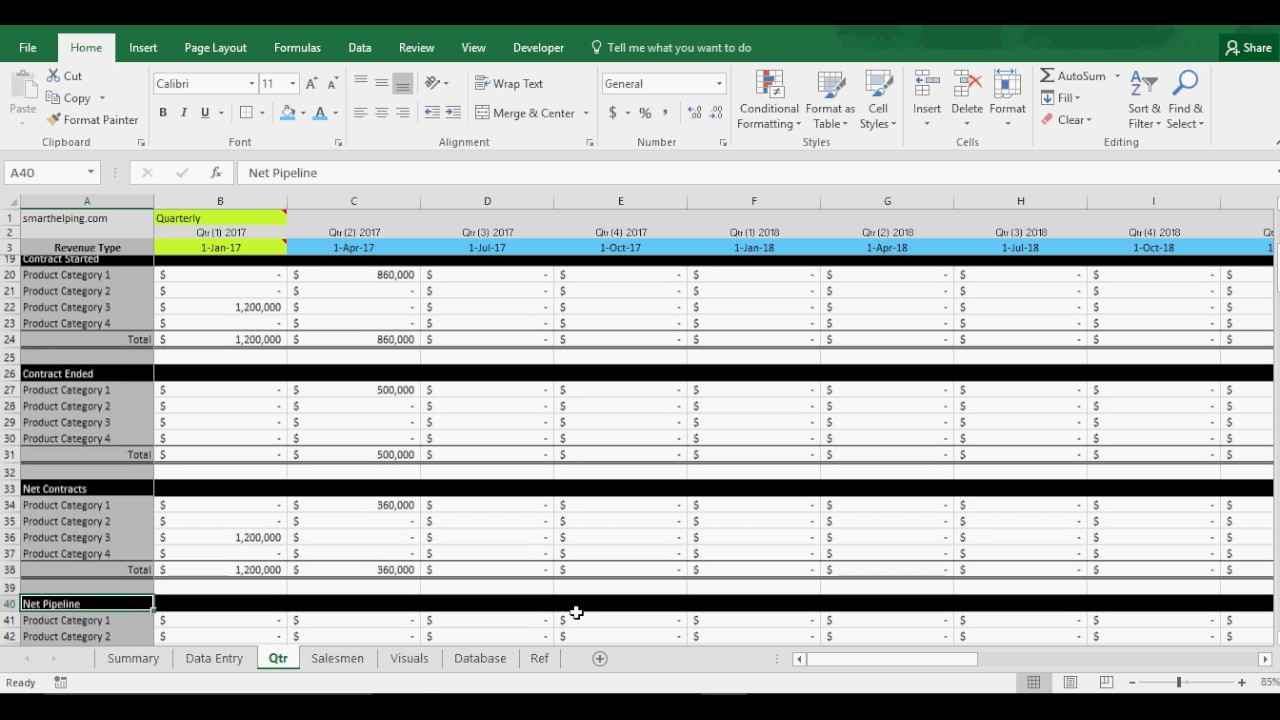 sales pipeline template excel free Melo.in tandem.co