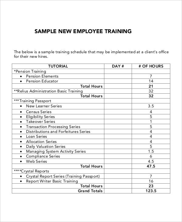 training plan proposal template 5 employee training plan templates