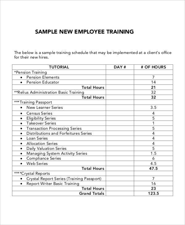 training plan proposal template 5 employee training plan templates