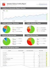 website reporting template Melo.in tandem.co