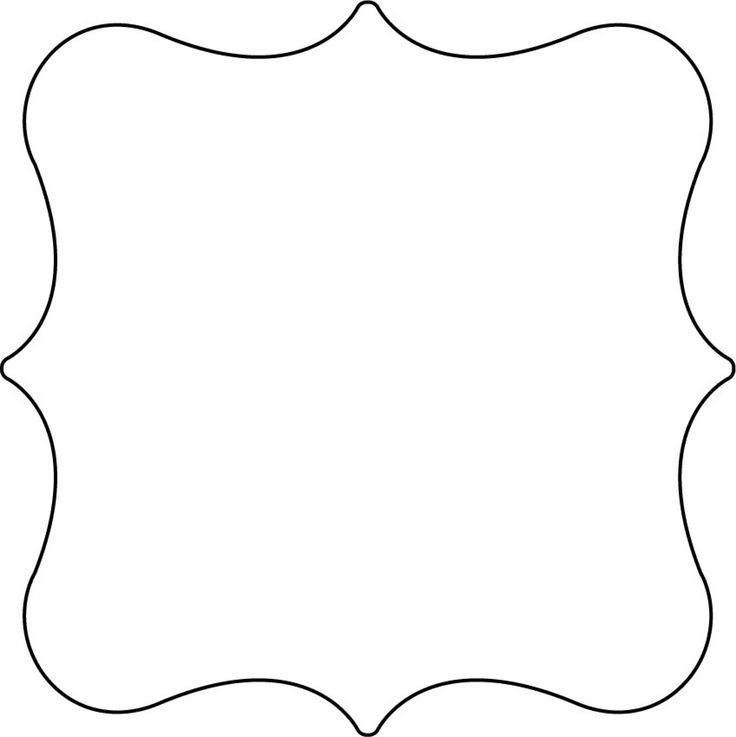 Shape Templates For Preschoolers #21210 1023×1325