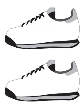 Printable Shoe Template