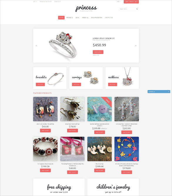 21+ Jewelry Blog Themes & Templates | Free & Premium Templates