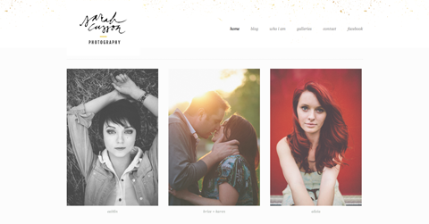 Four Squarespace Website Templates Designed with Photographers in