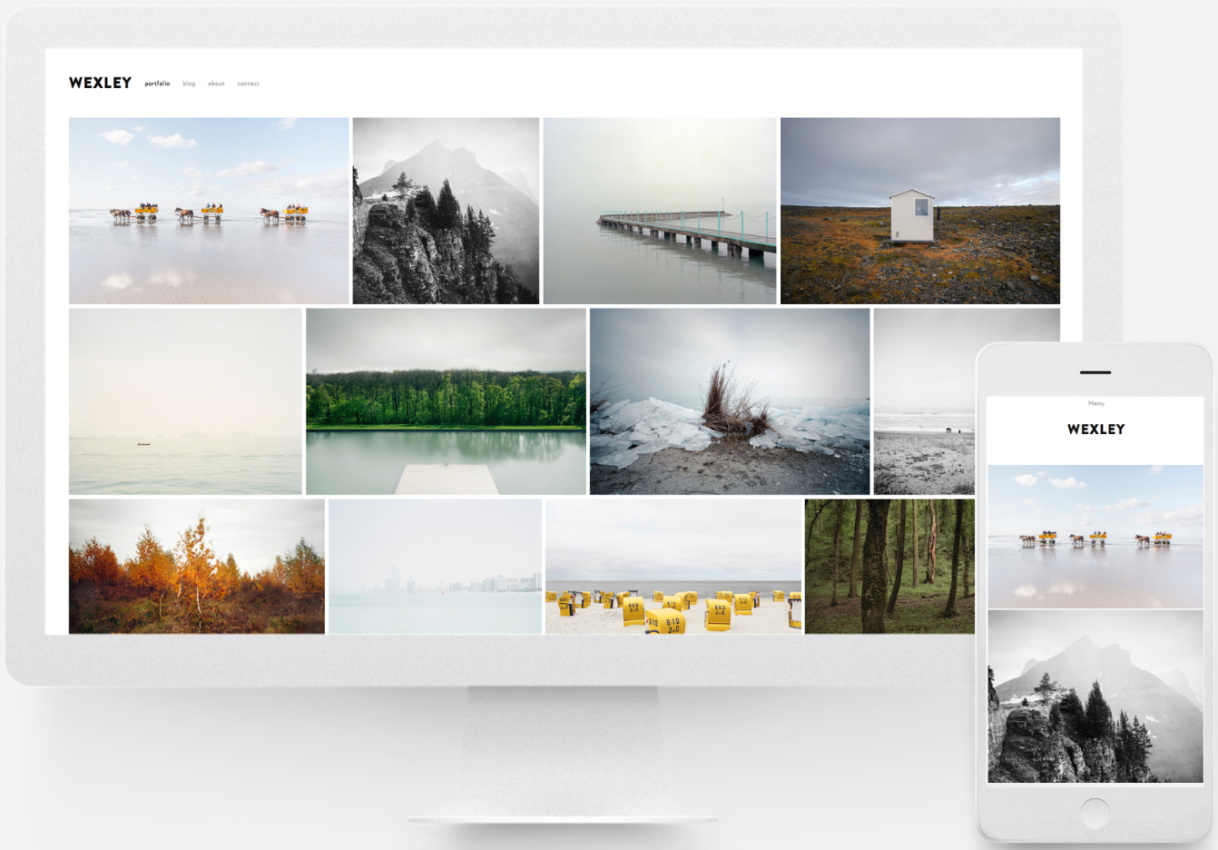 Building a photographer site – Squarespace Help
