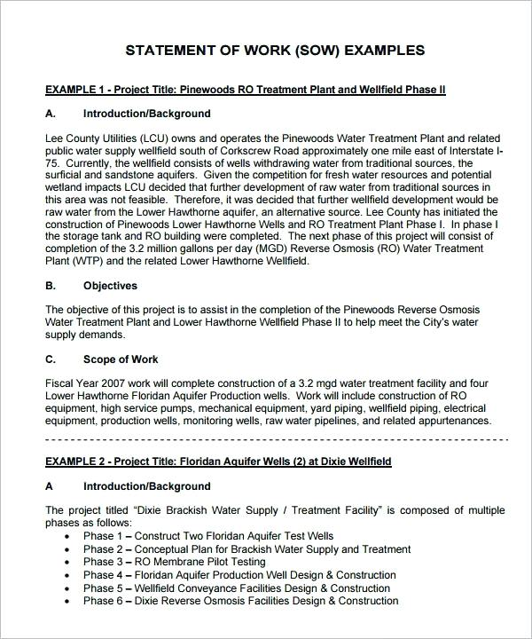 contract statement of work Toma.daretodonate.co