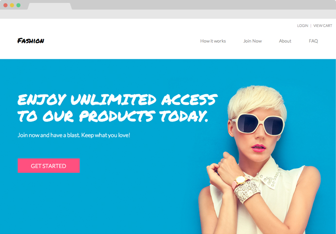 Templates and Themes for Subscription Box Websites | Cratejoy