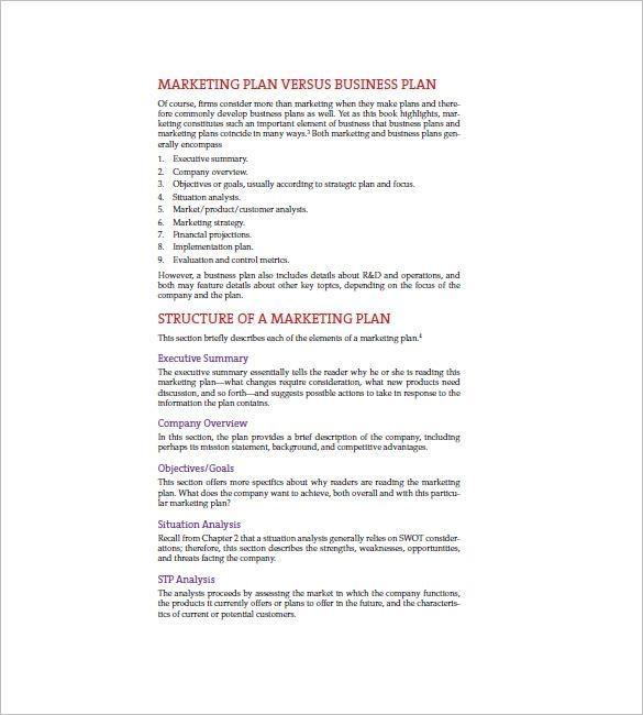 Summary Plan Description Template | Professional Template