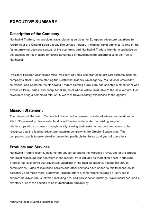 sample executive summary for business plan Melo.in tandem.co