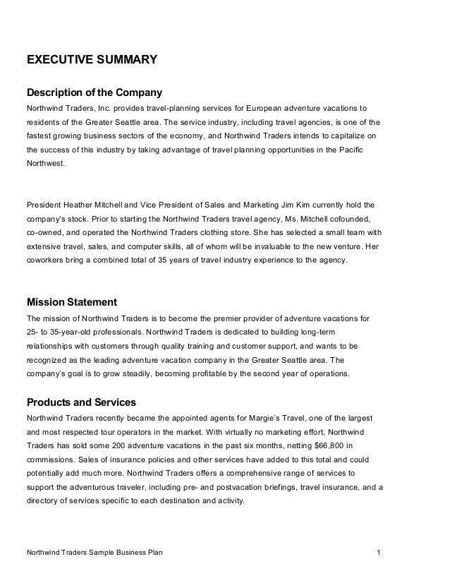 Summary Plan Description Template | Template Idea inside Summary