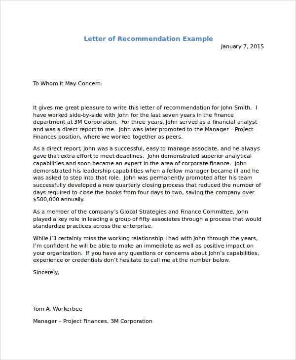 10+ Immigration Reference Letter Templates PDF, DOC | Free
