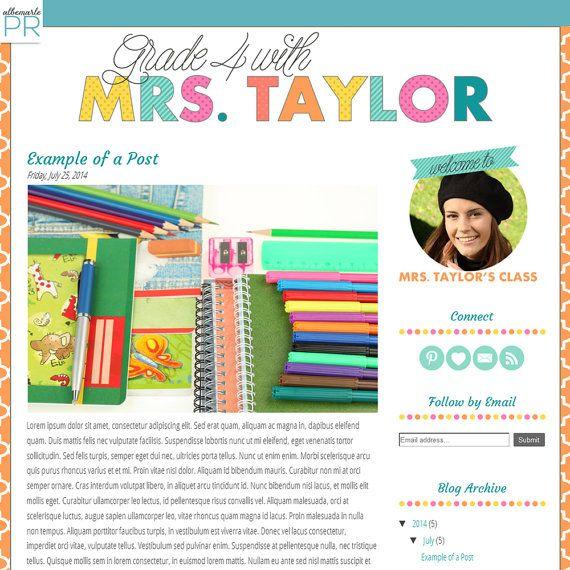 26 Images of Teacher Web Template | leseriail.com
