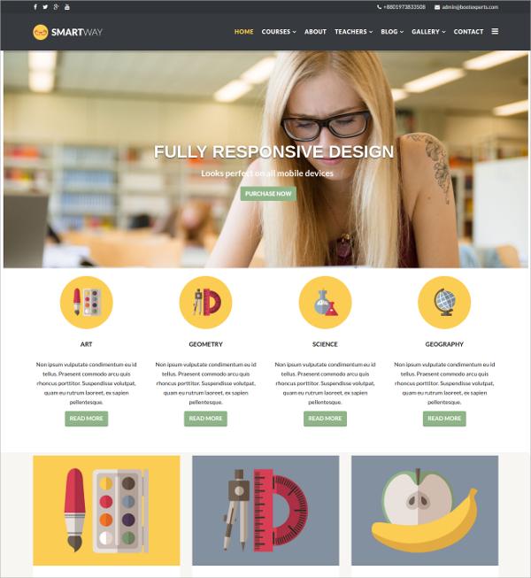 20+ Teachers Website Themes & Templates | Free & Premium Templates