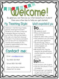 Introduction Letter to Parents from a New Teacher | ♡♥Buiding