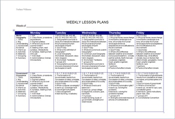 Lesson Plan Template for Dual Prep with TEKS, Grouping, Assessment