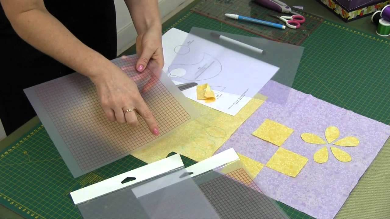 Sew Easy Template Plastic Sheets YouTube