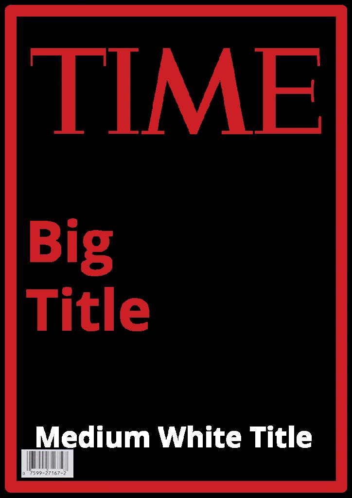Time Magazine Template   Steven Katz