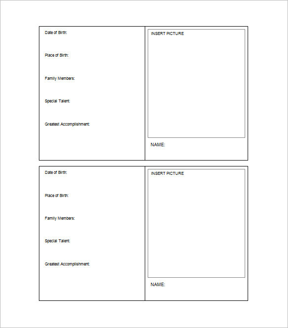 33+ Trading Card Template Word, PDF, PSD, EPS | Free & Premium