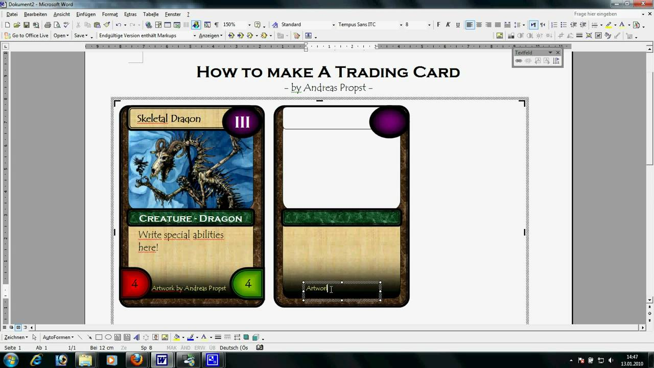 Trading Card Template Word Baseball For – spitznas.info