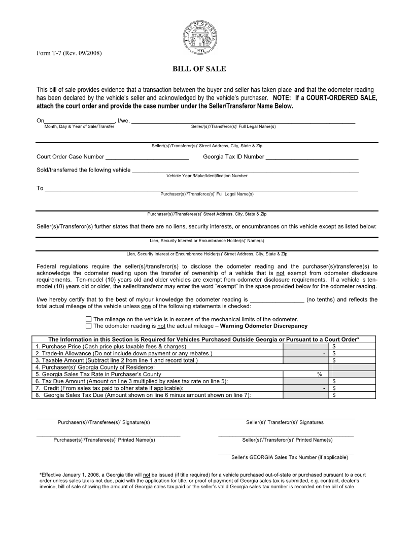 bill of sale form trailer Melo.in tandem.co