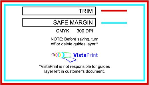 vistaprint postcard template
