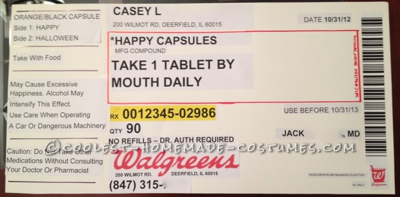 walgreens prescription label template
