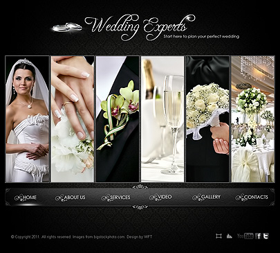 wedding video website templates wedding experts photo video